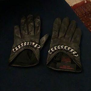 Lauren Urstadt leather gloves